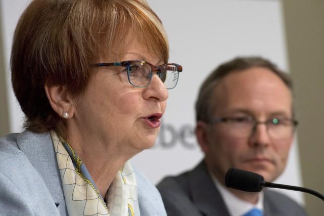 Lucienne Robillard est la présidente de la Commission... (Photo Jacques Boissinot, La Presse Canadienne)
