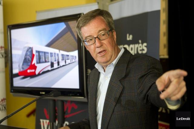 Le maire Jim Watson soutient que le plan... (Martin Roy, LeDroit)