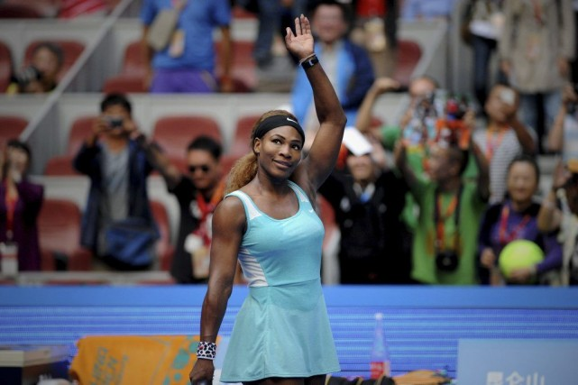 Serena Williams... (PHOTO WANG ZHAO, AGENCE FRANCE-PRESSE)