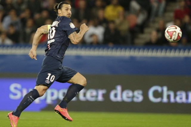 Zlatan Ibrahimovic... (PHOTO KENZO TRIBOUILLARD, AGENCE FRANCE-PRESSE)