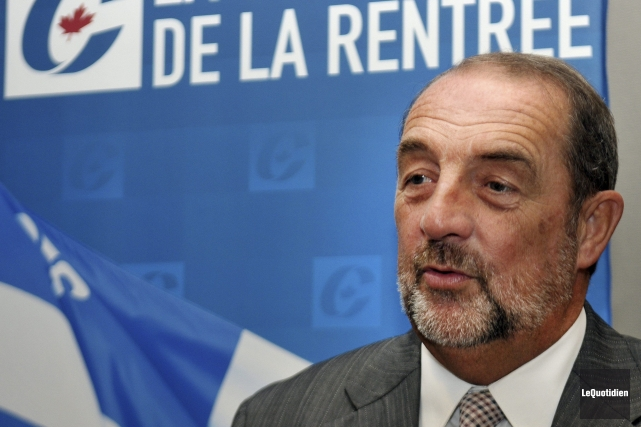 Le ministre fédéral de l'Infrastructure, Denis Lebel.... (Photo d'archives, Le Quotidien)