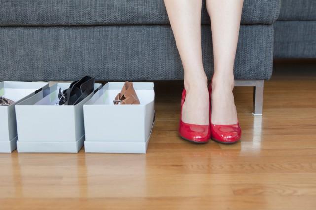 Un pied mal chaussé est non seulement source... (PHOTO MASTERFILE)
