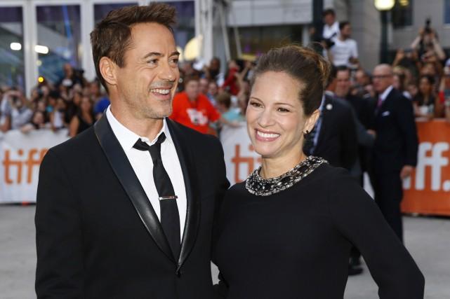 Robert Downey Jr. et sa femme Susan.... (Photo: Reuters)