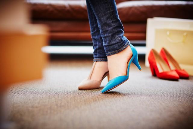 Des conseils pour repérer un bon soulier avant même de l'avoir essayé! (PHOTO MASTERFILE)