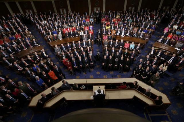 Alors que la Chambre des représentants devrait rester... (PHOTO GARY CAMERON, ARCHIVES REUTERS)