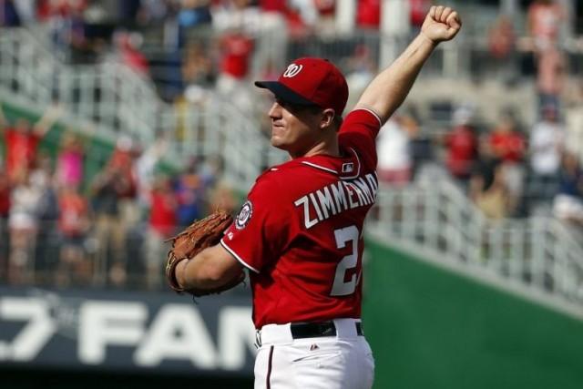 Jordan Zimmermann... (PHOTO ALEX BRANDON' ASSOCIATED PRESS)
