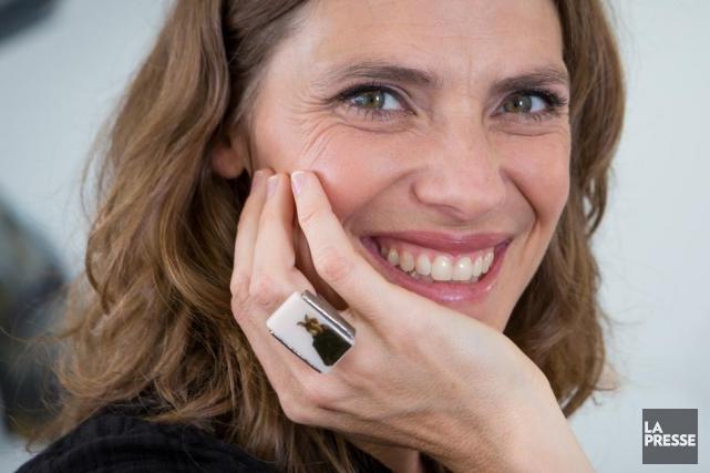 Hélène Florent porte la bague inspirée du film... (Photo: archives La Presse)
