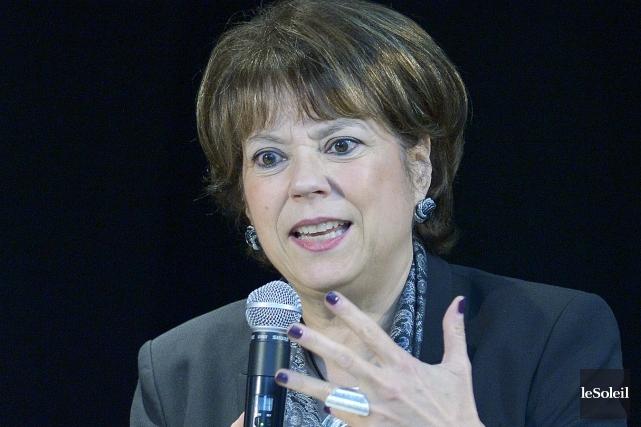 La ministre de la Culture Hélène David... (Photo: Jean-Marie Villeneuve, archives Le Soleil)