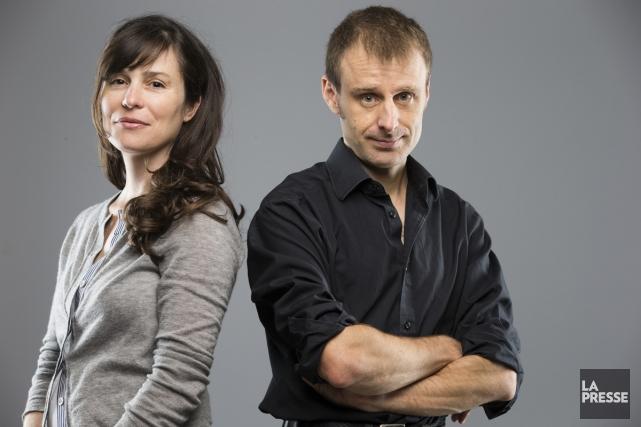 Révolutions de Dominique Fortier et Nicolas Dickner n'est... (Photo: François Roy, La Presse)