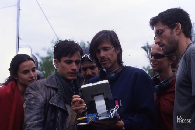 Le réalisateur Walter Salles (au centre, en compagnie... (Photo: archives La Presse)