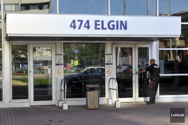 Le quartier général de la police d'Ottawa.... (Martin Roy, LeDroit)