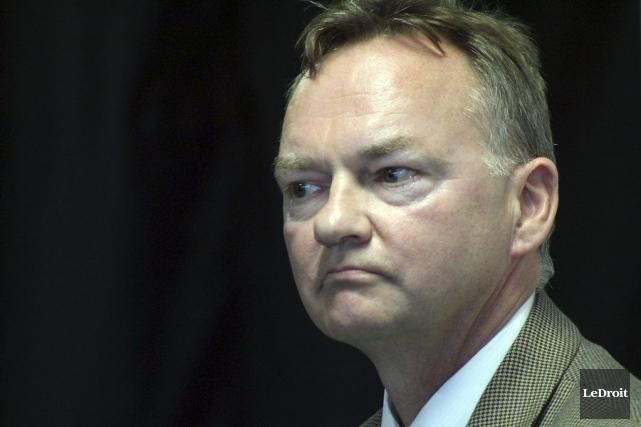 Le candidat à la mairie d'Ottawa, Mike Maguire.... (Étienne Ranger, LeDroit)