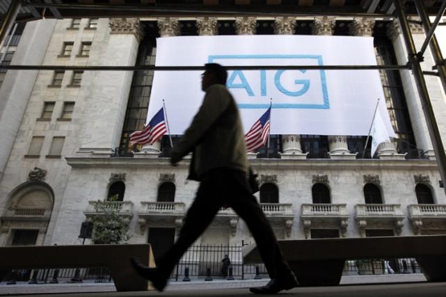 Selon l'avocat, AIG est le seul groupe sauvé... (Photo: Reuters)