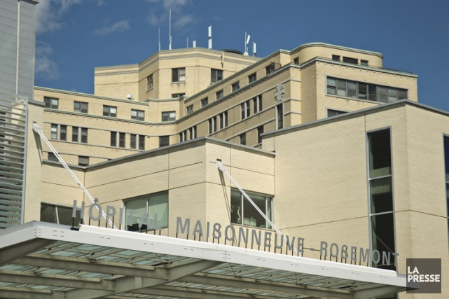 L'hôpital Maisonneuve-Rosemont.... (PHOTO HUGO-SÉBASTIEN AUBERT, ARCHIVES LA PRESSE)