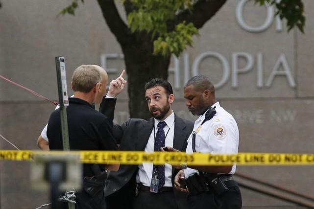 Des agents des services secrets américains ont arrêté lundi un homme qui avait... (Photo: Reuters)