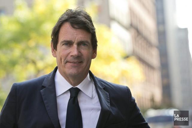 Pierre Karl Péladeau, porte-parole de l'opposition officielle en... (Photo Hugo-Sebastien Aubert, La Presse)