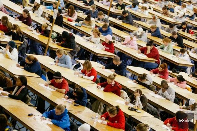Une vaste coalition d'associations étudiantes montréalaises regroupant près de... (Photothèque Le Soleil)