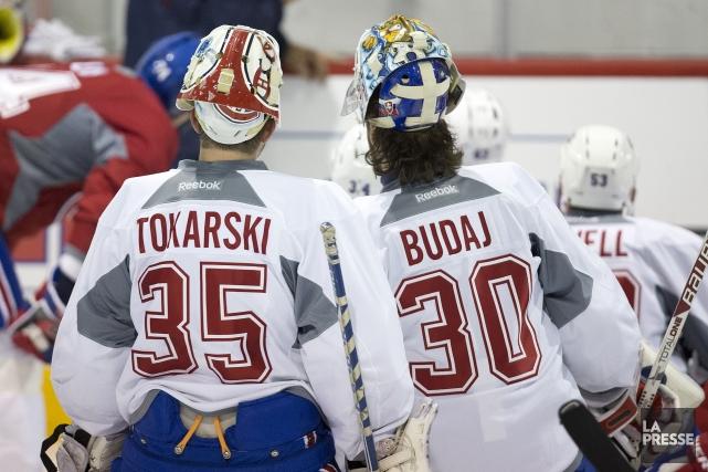 Le choix du deuxième gardien du Canadien reste... (PHOTO ROBERT SKINNER, LA PRESSE)