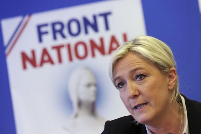 Le parti de Marine Le Pen a obtenu... (PHOTO PHILIPPE WOJAZER, ARCHIVES REUTERS)