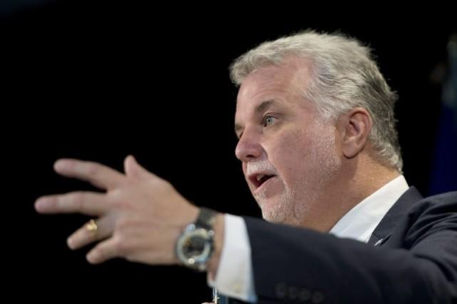 Philippe Couillardsoutient que le Québec devrait profiter de... (Photo Jacques Boissinot, La Presse Canadienne)