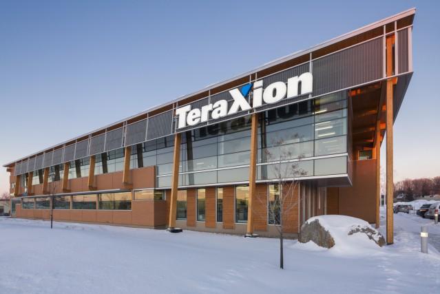 Immeuble Teraxion... (Photo Stéphane Groleau)