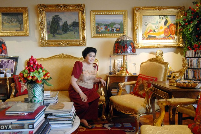 Le domicile d'Imelda Marcos, dans le district de... (PHOTO ROMEO GACAD, ARCHIVES AFP)