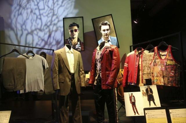 Les costumes du film Fight Club mettant en... (Photo: AP)