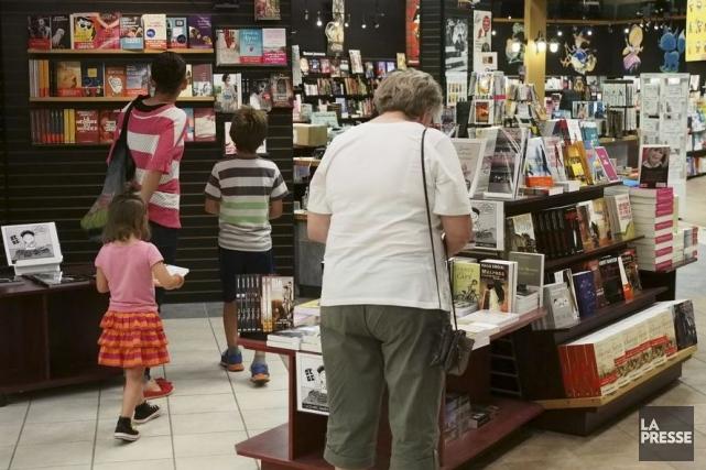 Les ventes de livres ont augmenté de 1,5 pour cent au Québec, l'an dernier,... (Photo: archives La Presse)