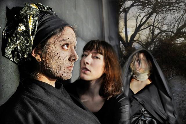 Notre Damn traite d'un trio de soeurs renégates... (Photo: Rolline Laporte, fournie par Opéra Foe)