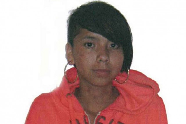 Tina Fontaine est disparue une semaine avant que son... (Photo PC/Service de police de Winnipeg)