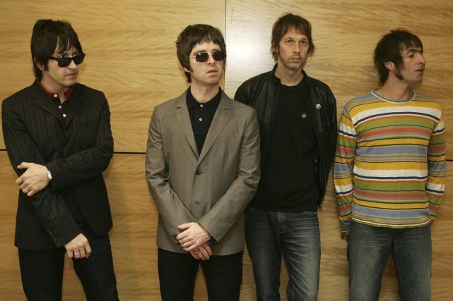 Le groupe Oasis en 2006: Gem Gallagher, Noel... (Photo: archives AFP)