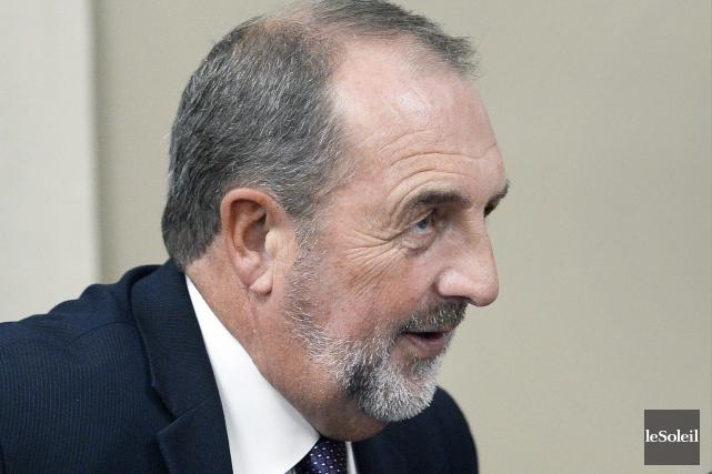 Le ministre fédéral de l'Agence de développement économique,... (Photothèque Le Soleil, Jean-Marie Villeneuve)
