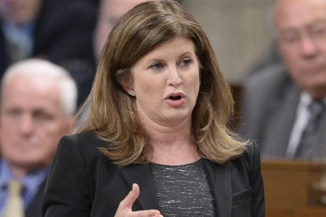 La ministre Rona Ambrose a récemment annoncé un... (Photo archives PC)