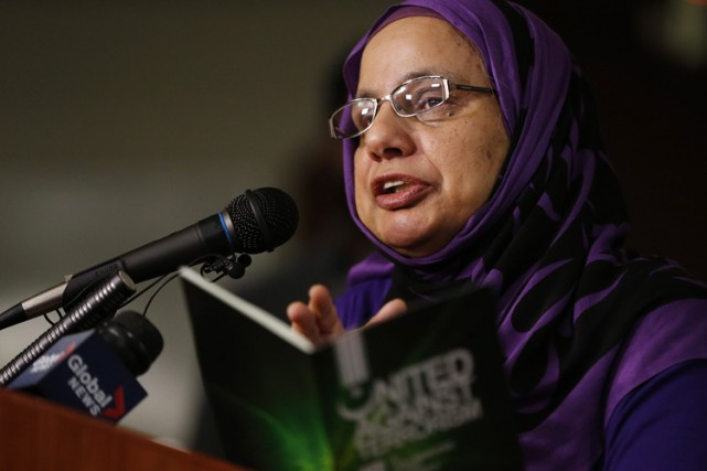 La présidente de l'Association des services sociaux islamistes,... (Photo: PC)