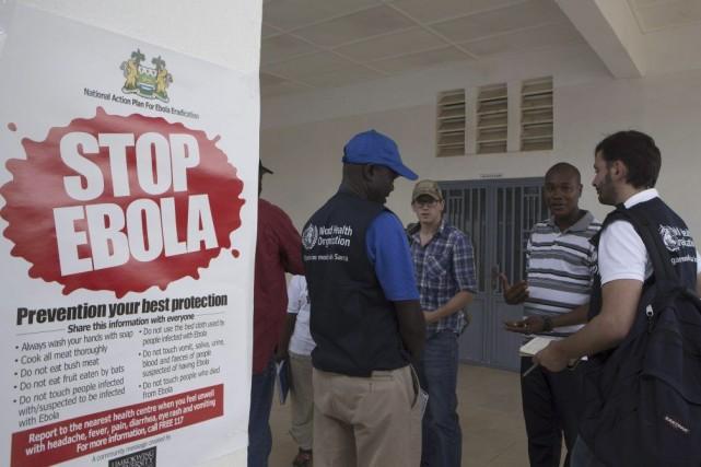 La détection d'un cas de fièvre Ebola aux États-Unis ne doit pas inquiéter les... (PHOTO CHRISTOPHER BLACK, REUTERS)