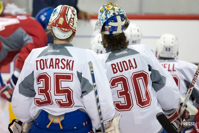 Qui secondera Carey Price cette saison? Dustin Tokarski... (Photo Robert Skinner, La Presse)