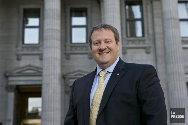 Mario Rigante est le nouveau premier vice-président de... (PHOTO HUGO-SÉBASTIEN AUBERT, LA PRESSE)