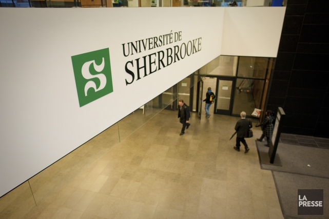 Université de Sherbrooke... (PHOTO ANDRÉ PICHETTE, LA PRESSE)