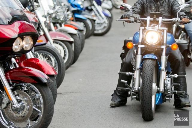 «Les motards criminalisés sont maintenant une tendance émergente... (Archives, La Presse)