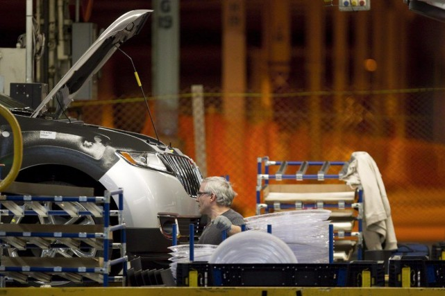 En 2013, Ford avait annoncé des investissements de... (Photo Chris Young, La Presse Canadienne)