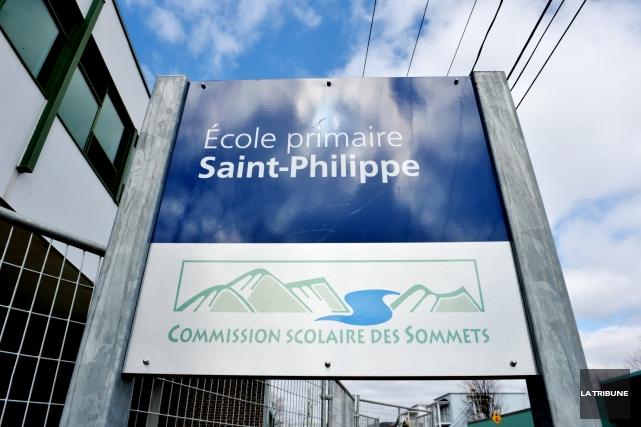 La qualité de l'air est bonne à l'école primaire Saint-Philippe de Windsor,... (Archives La Tribune, Frédéric Côté)
