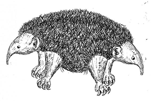 Représentée par une sorte de hérisson (ou opossum)... (ILLUSTRATION AFP/CIA)