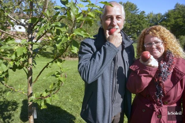 Lors de la Journée nationale de l'arbre mercredi,... (Le Soleil, Jean-Marie Villeneuve)