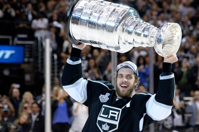 Anze Kopitar... (Photo Gary A. Vasquez, USA Today)