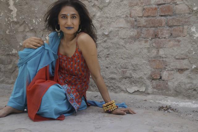 Kiran Ahluwalia a marié groove indien, blues saharien... (Photo: Sahiba Kaur Chawla, fournie par Kiran Music)