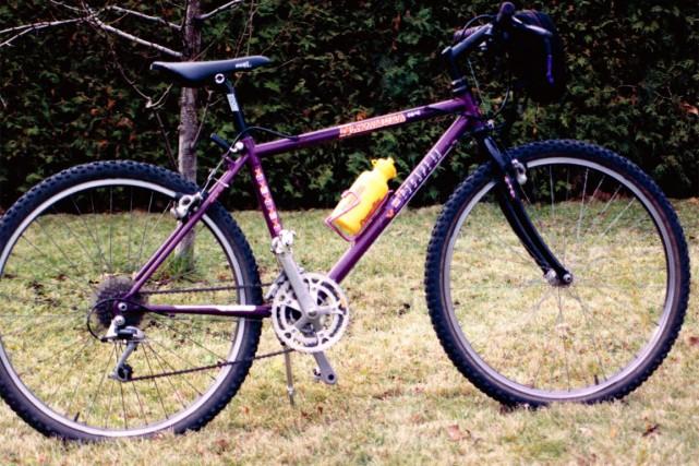 Le vélo de Jean-Bernard Trottier.... (Photo fournie par le SPS)