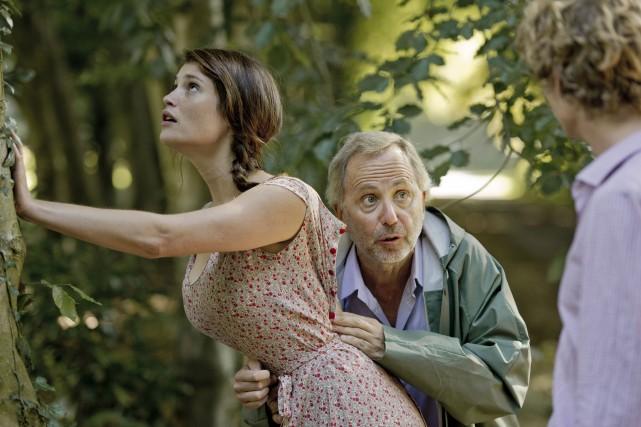 Gemma Arterton et Fabrice Luchini dans une scène... (Photo: fournie par Métropole Films)