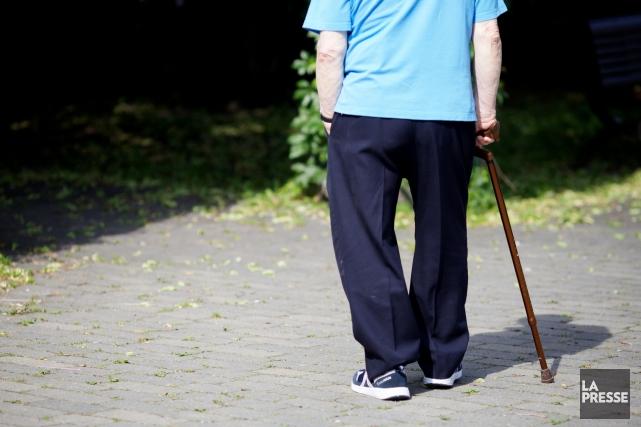 L'âge moyen de la population estrienne devrait se maintenir au-dessus de celui... (Archives La Presse)