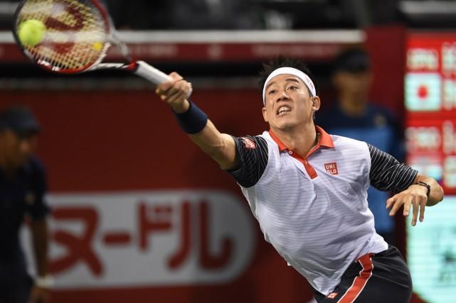 Kei Nishikori... (Photo Toru Yamanaka, AFP)
