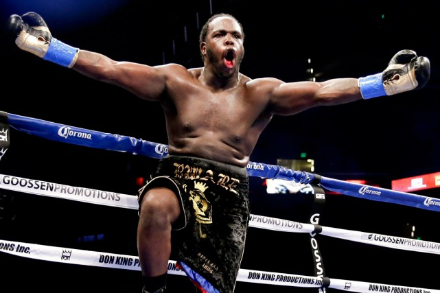 Bermane Stiverne... (Photo Chris Carlson, AP)